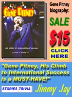 Gene Pitney - His Climb To International Success
