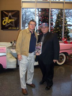 Owner Glen Patch with Jimmy Jay